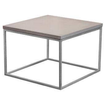 Soffbord i betong kub mystic 60x60 cm