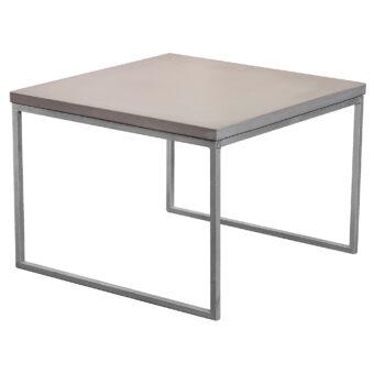 Soffbord i betong halvkub mystic 60x60 cm