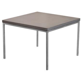 Soffbord i betong mystic black 60x60 cm