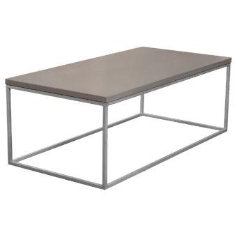 Soffbord i betong kub mystic black 120x60 cm