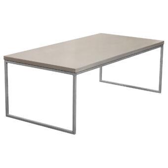 Soffbord i betong halvkub mystic 120x60 cm