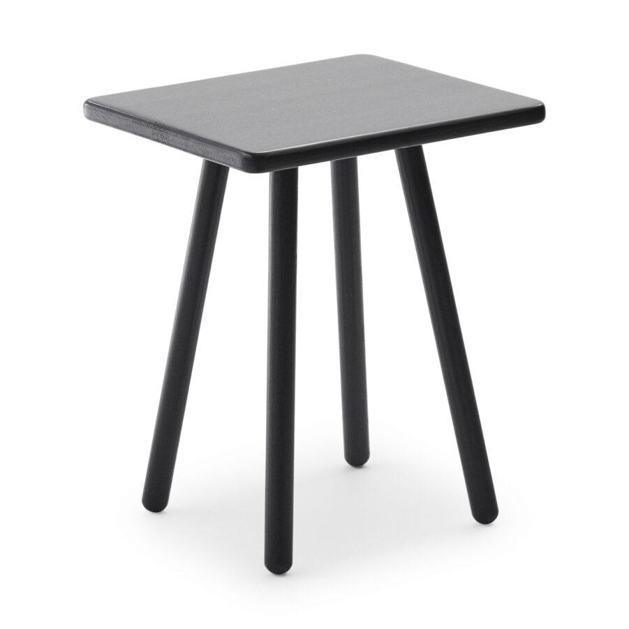 Georg sidobord i svart ek från Skagerak.