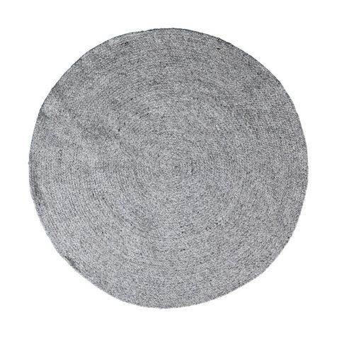 Brafab Platani utomhusmatta Ø120 cm grå
