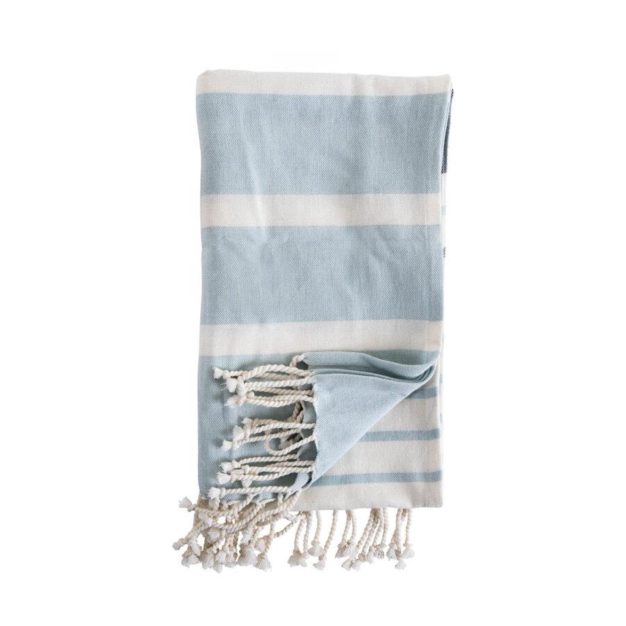 Brafab Tronto pläd 170x130 cm blå