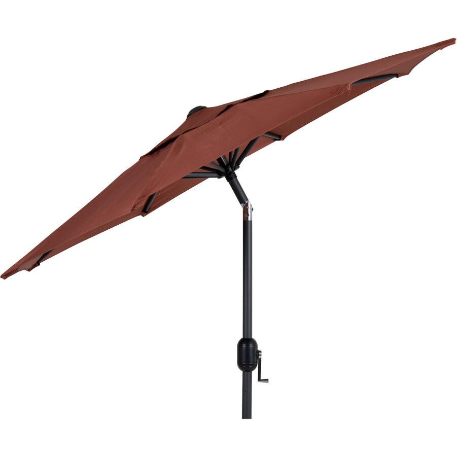 Brafab Cambre parasoll Ø200 cm antracit/paprika