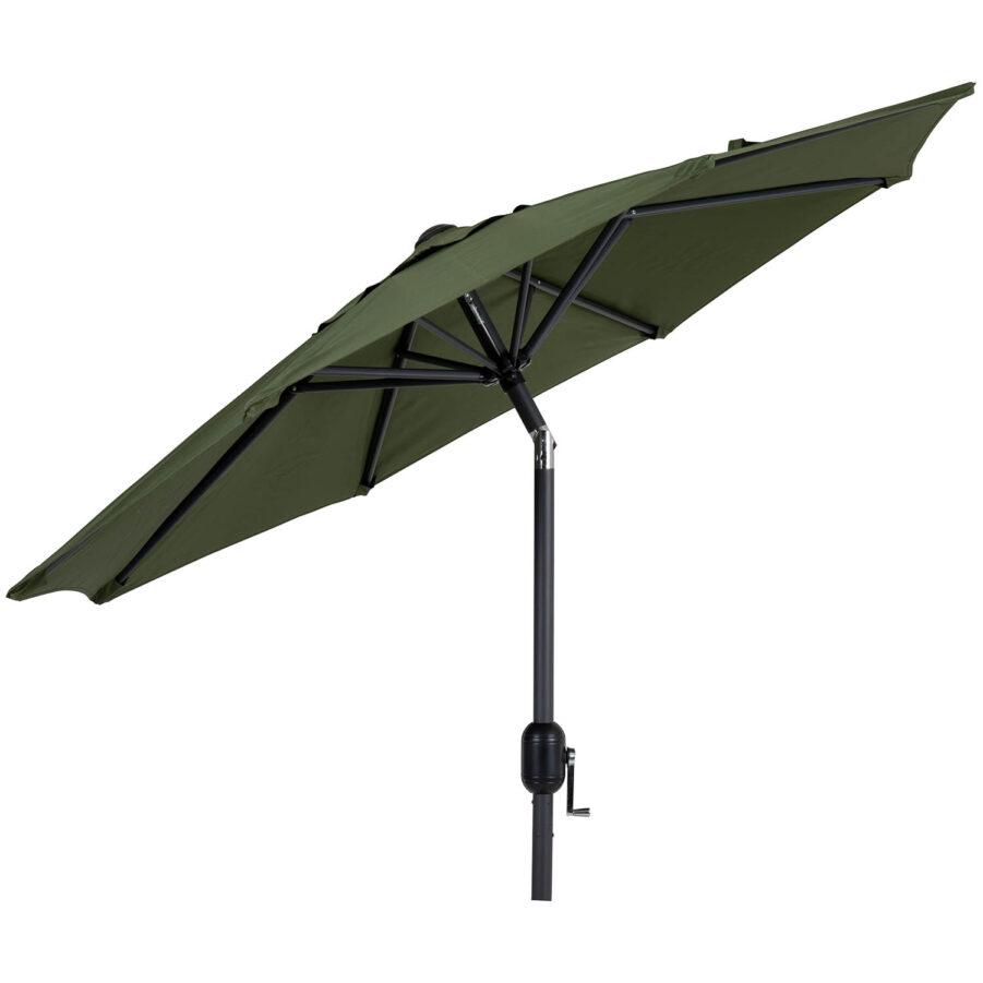 Brafab Cambre parasoll Ø200 cm antracit/mossgrön