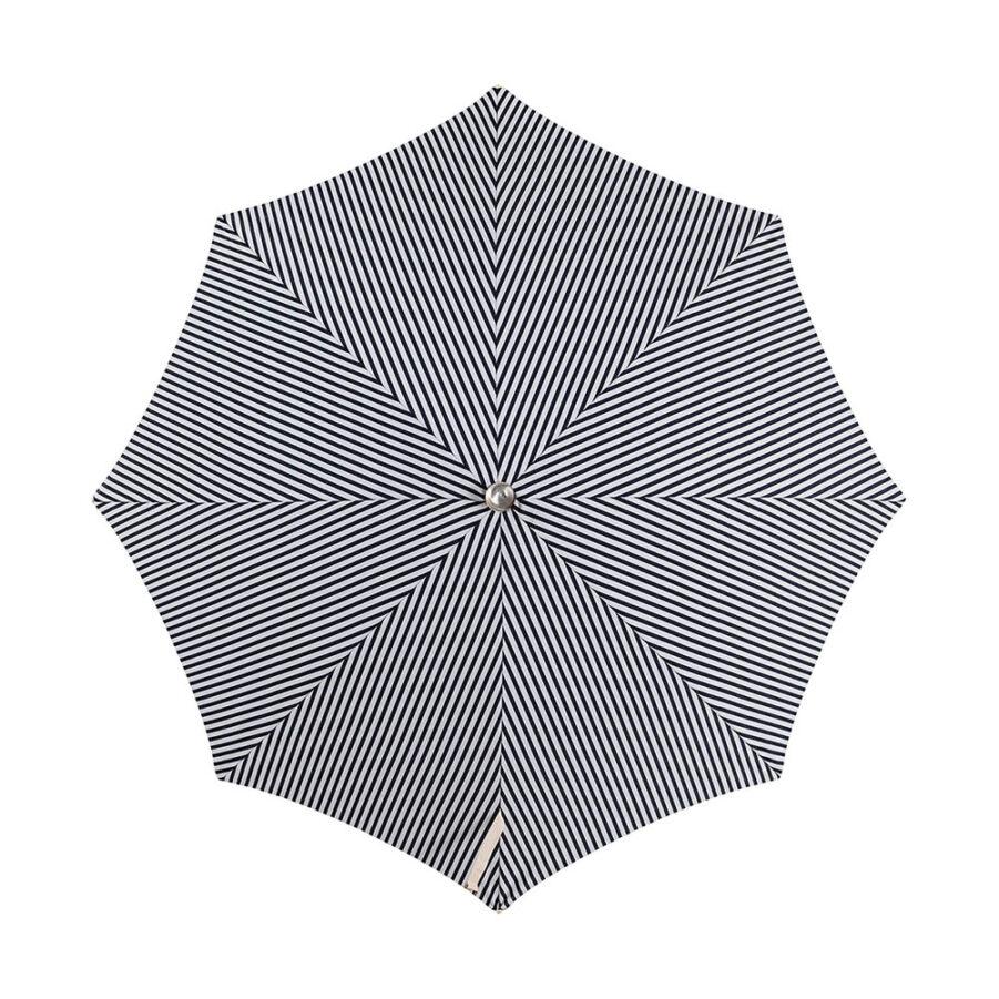 Parasollduk för Premium blårandigt parasoll från Business and Pleasure.