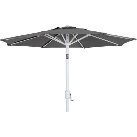 Brafab Cambre parasoll Ø200 cm vit/grå