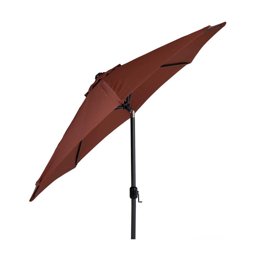 Brafab Cambre parasoll Ø300 cm antracit/paprika