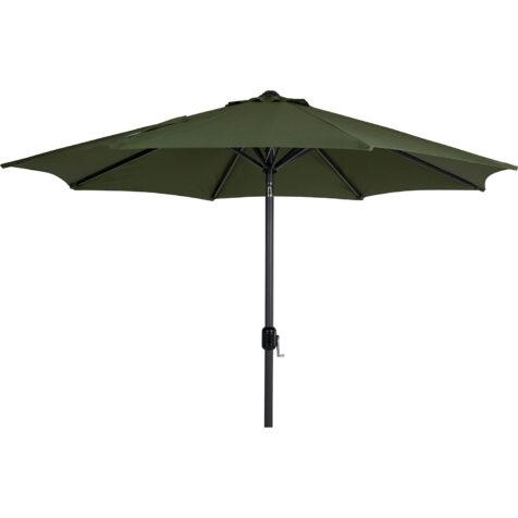 Brafab Cambre parasoll Ø300 cm antracit/mossgrön