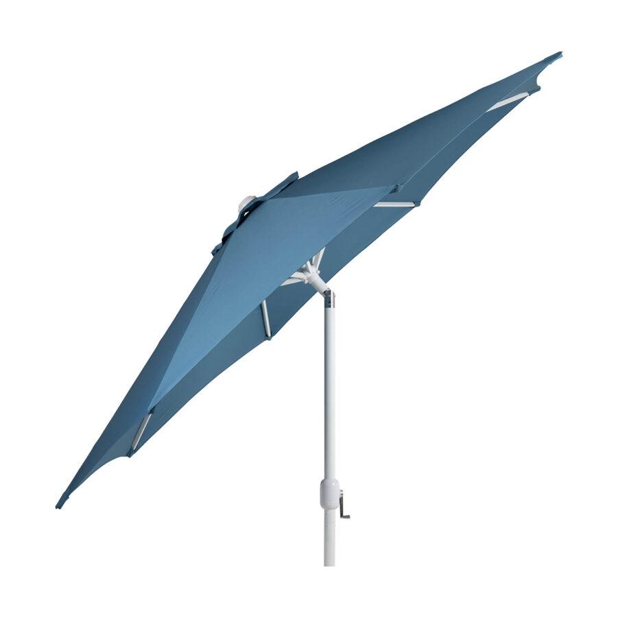 Brafab Cambre parasoll Ø300 cm vit/midnight blue