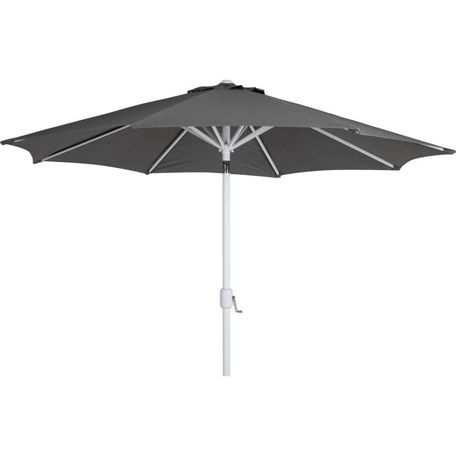 Brafab Cambre parasoll Ø300 cm vit/grå