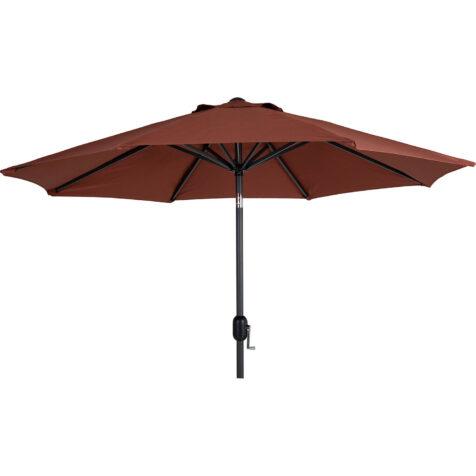 Brafab Cambre parasoll Ø250 cm antracit/paprika