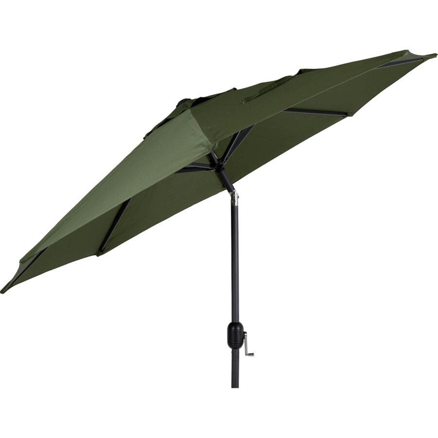 Brafab Cambre parasoll Ø250 cm antracit/mossgrön