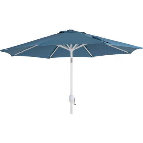 Brafab Cambre parasoll Ø250 cm vit/midnight Blue