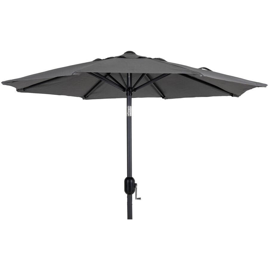 Brafab Cambre parasoll 200x200 cm antracit/grå