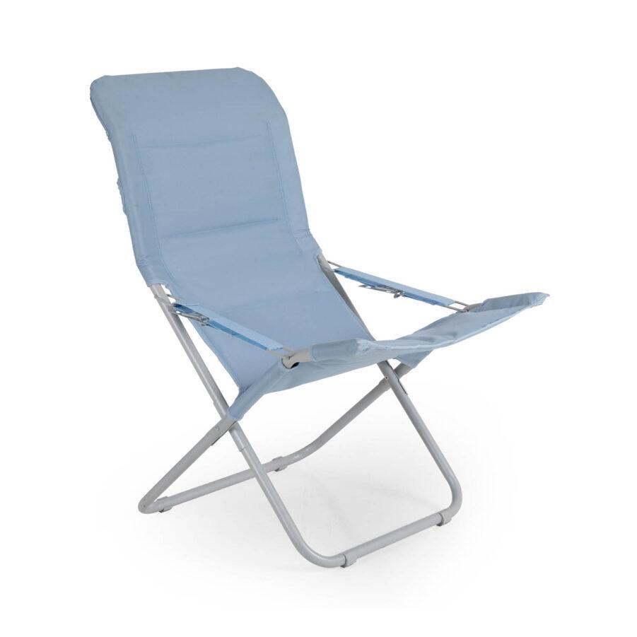 Brafab Tarn strandstol blå