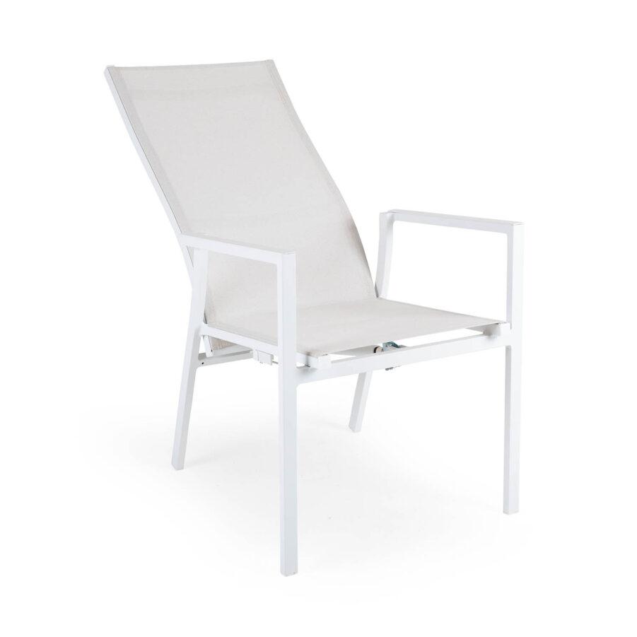 Brafab Avanti positionsstol vit/offwhite