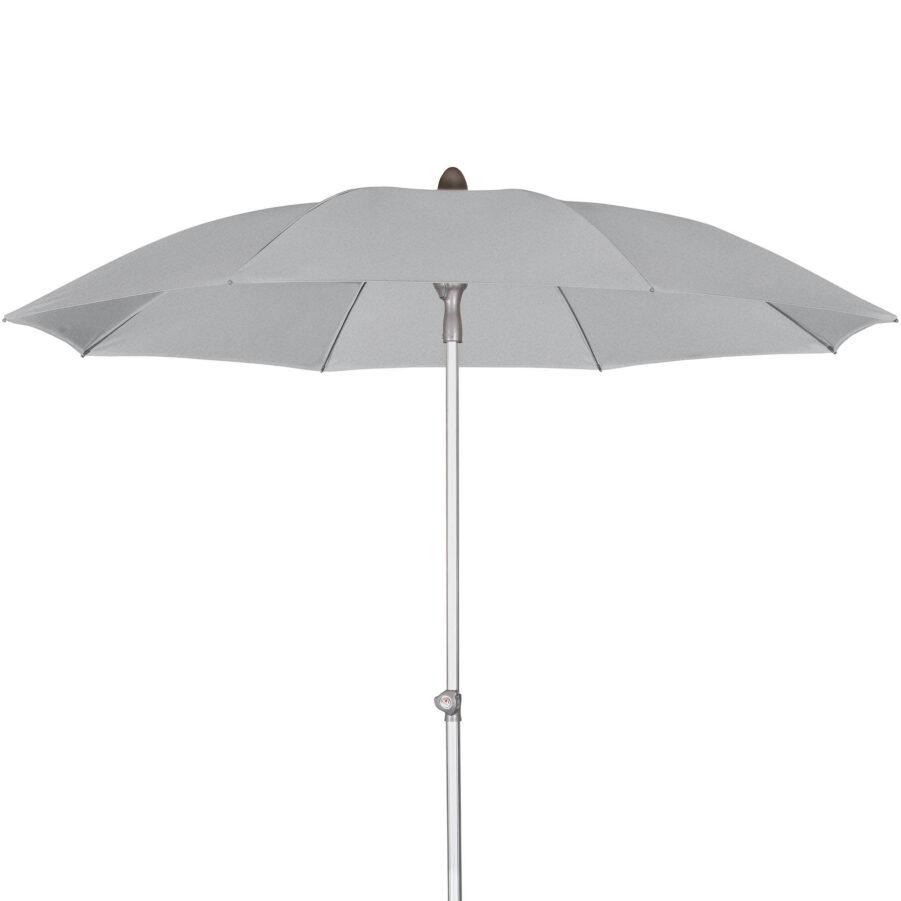 Act balkongparasoll ljusgrått i storleken Ø200 cm.