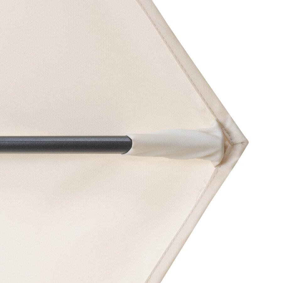 Basic Lift Neo naturfärgat balkongparasoll från Doppler.
