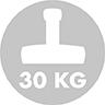 Rekommenderad parasollfotsvikt: 30 kg