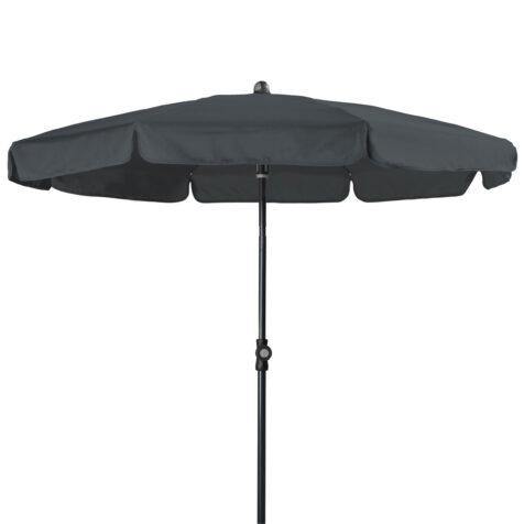 Doppler Sunline III parasoll i antracitgrått.