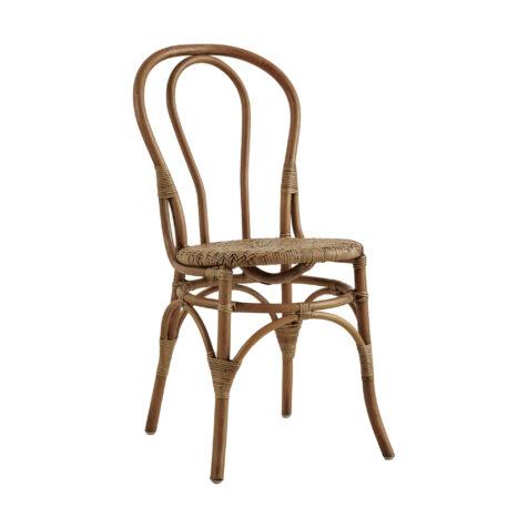 Lulu rottingstol i färgen antik.