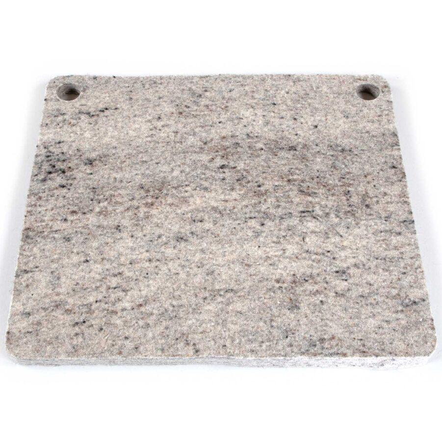 Woolhyttan 45 dyna i askgrå merinoull.
