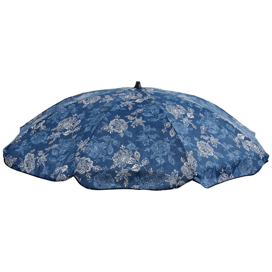 Parasoll Nadira från Fritab i blått.
