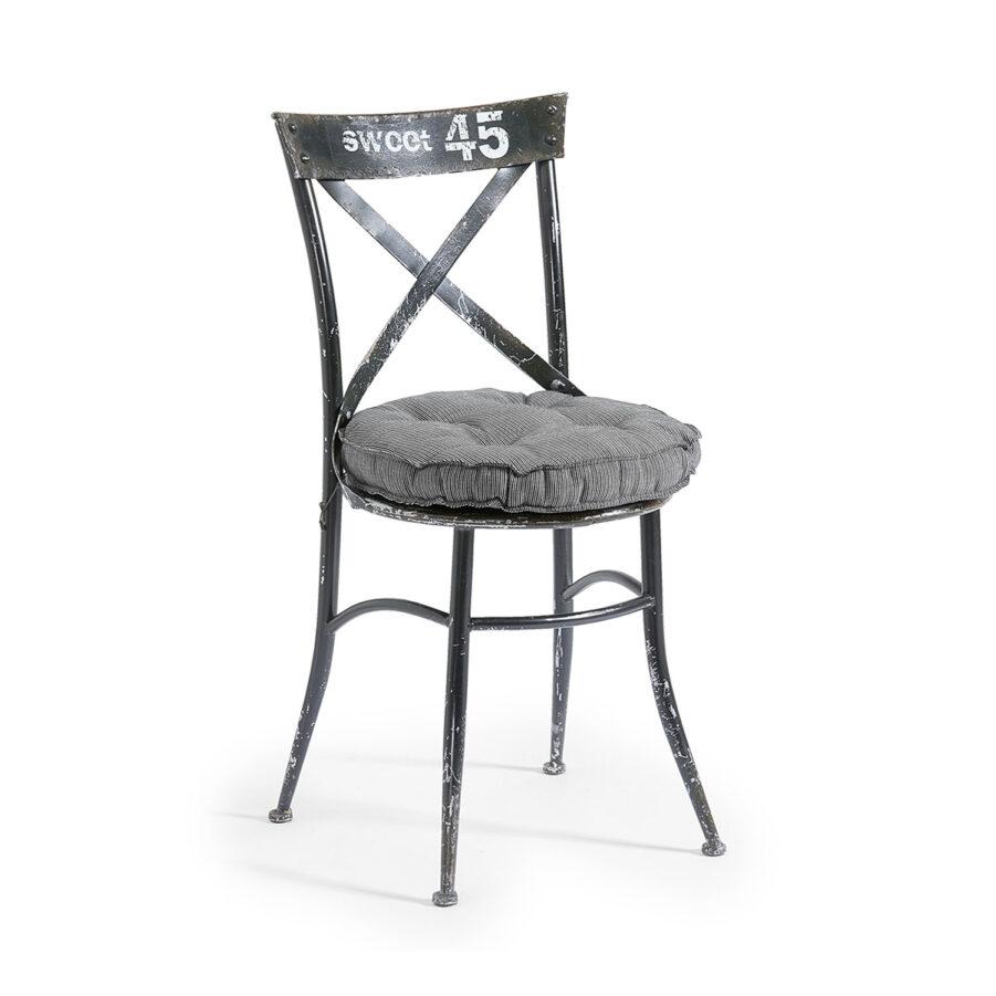 Bild på Andros sittdyna i stol.