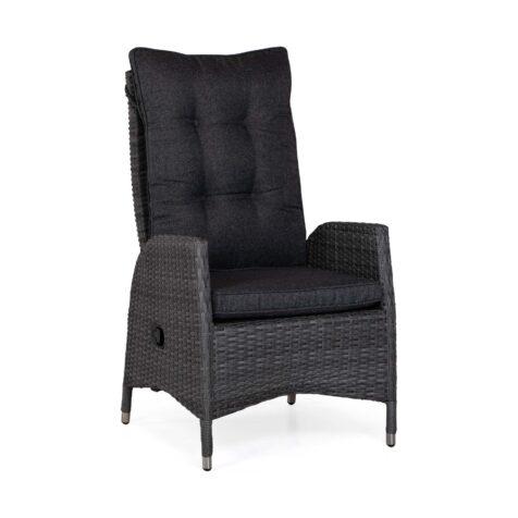 Coventry positionsstol i antracitgrått med mörkgrå dyna.