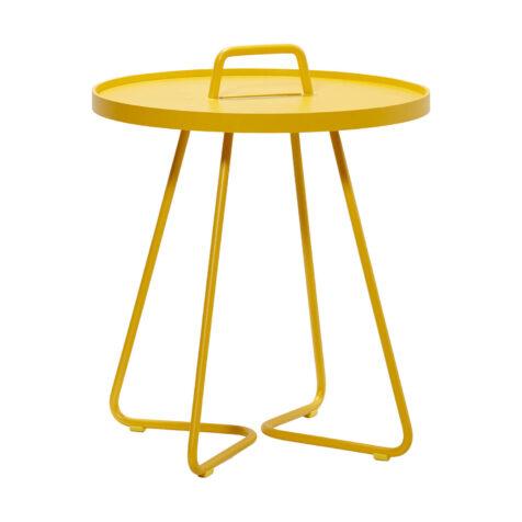 On-the-move bord litet gul