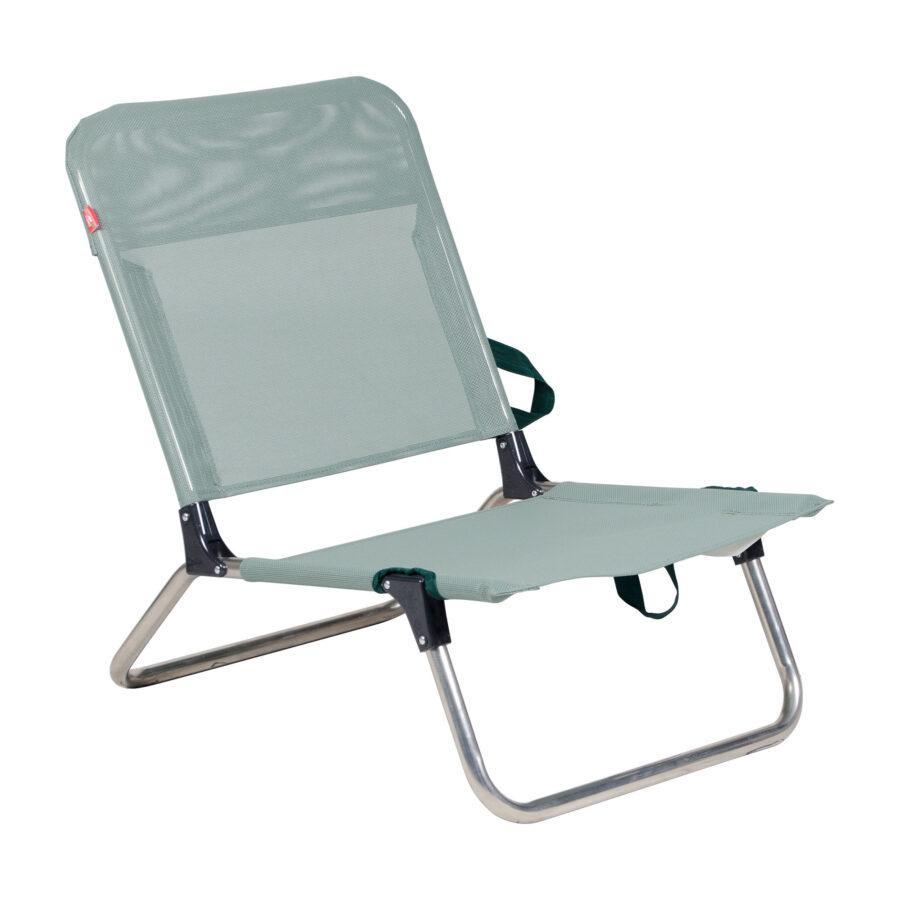 Quick strandstol i färgen sage.