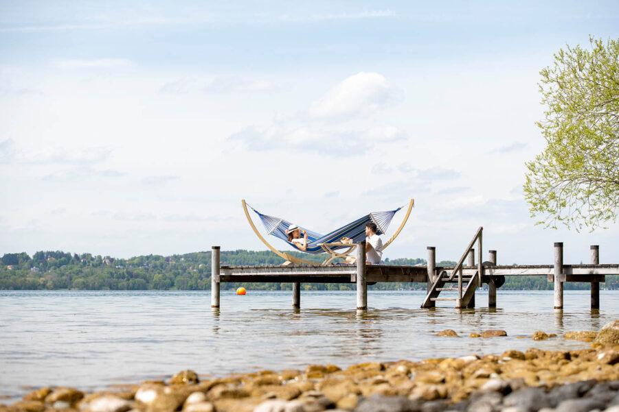 Amazonas Tonga hängmatta ocean med spridare