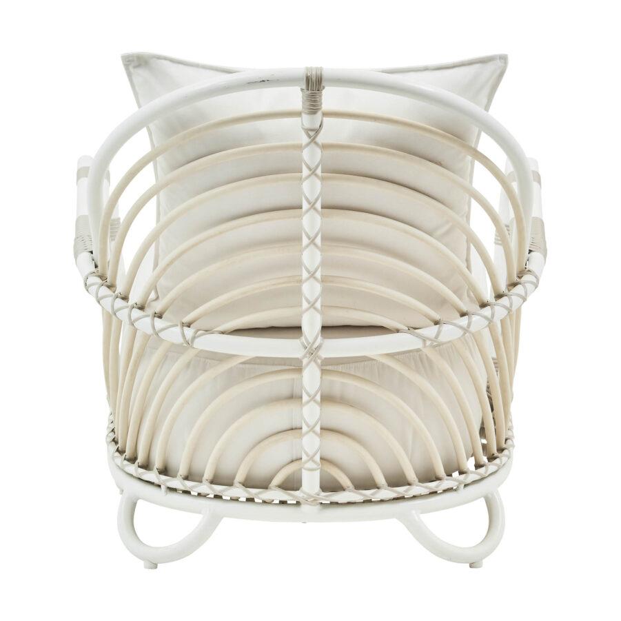Sika-design Charlottenborg fåtölj vit