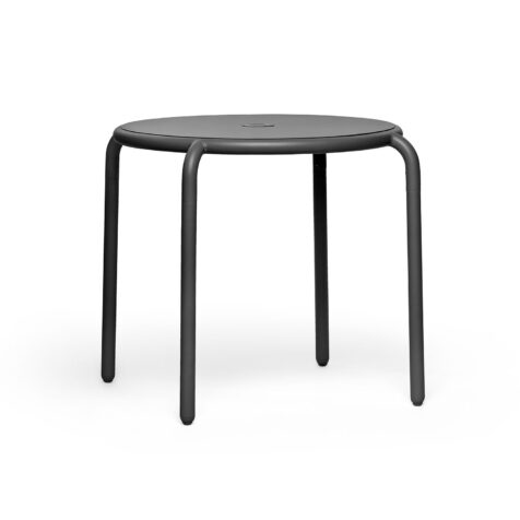 Fatboy Toní Bistreau cafébord antracit Ø80 cm