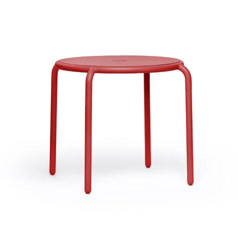 Fatboy Toní Bistreau cafébord röd Ø80 cm