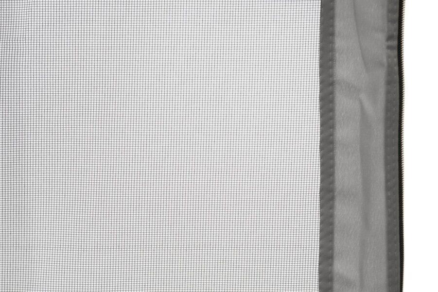 Hillerstorp Myggnät för paviljong 6-kantig ljusgrå/svart