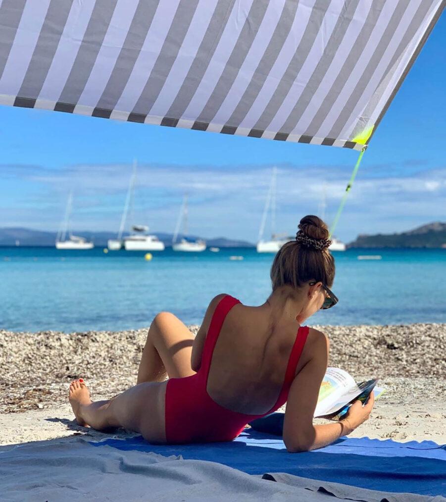 Miasun Biarrits strandtält från Fatboy.
