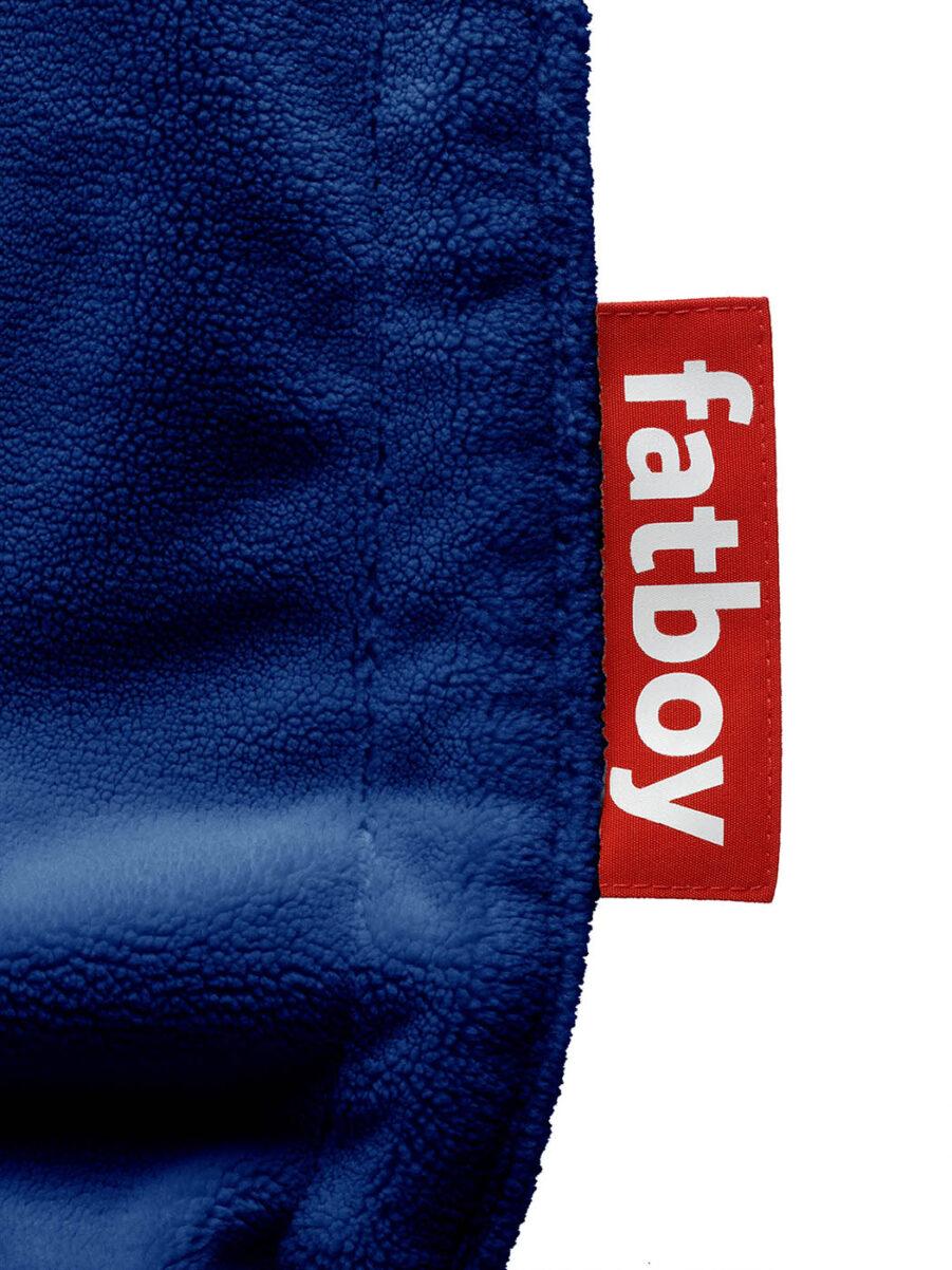 Fatboy original slim teddy royal blå