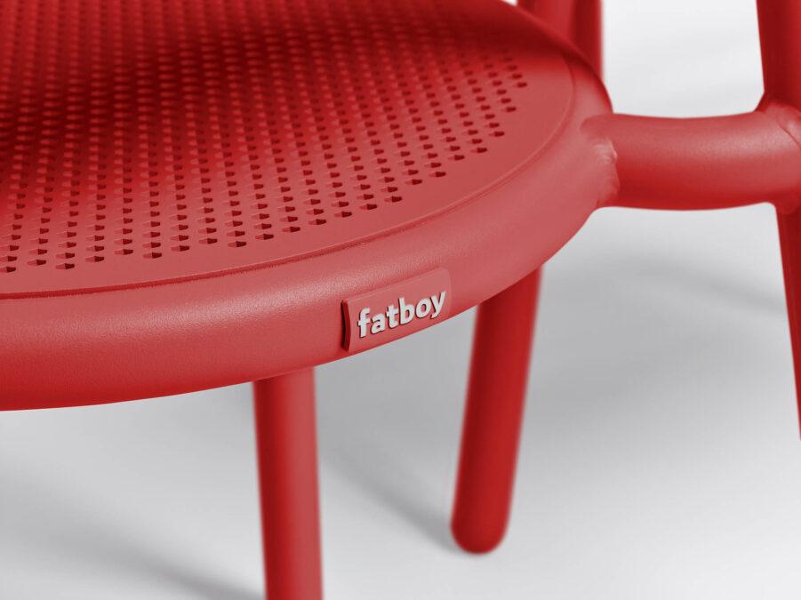 Fatboy Fatboy Toní karmstol röd