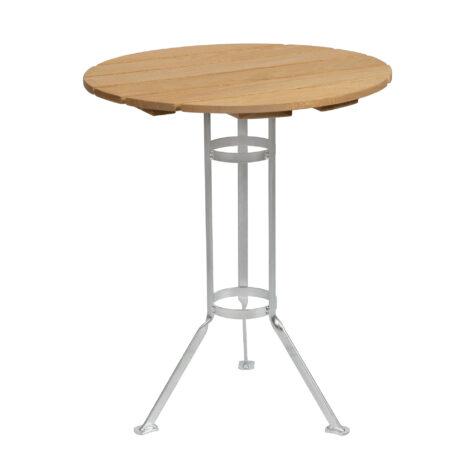 Bryggeri trefotsbord med varmförzinkat stativ och skiva i oljad ek.
