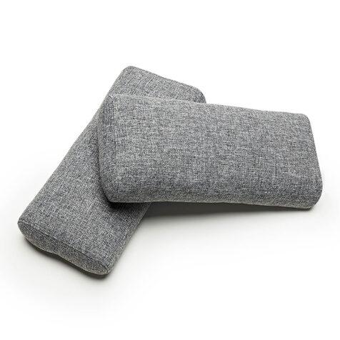 Ellipse sidokuddar i Twist Granite.