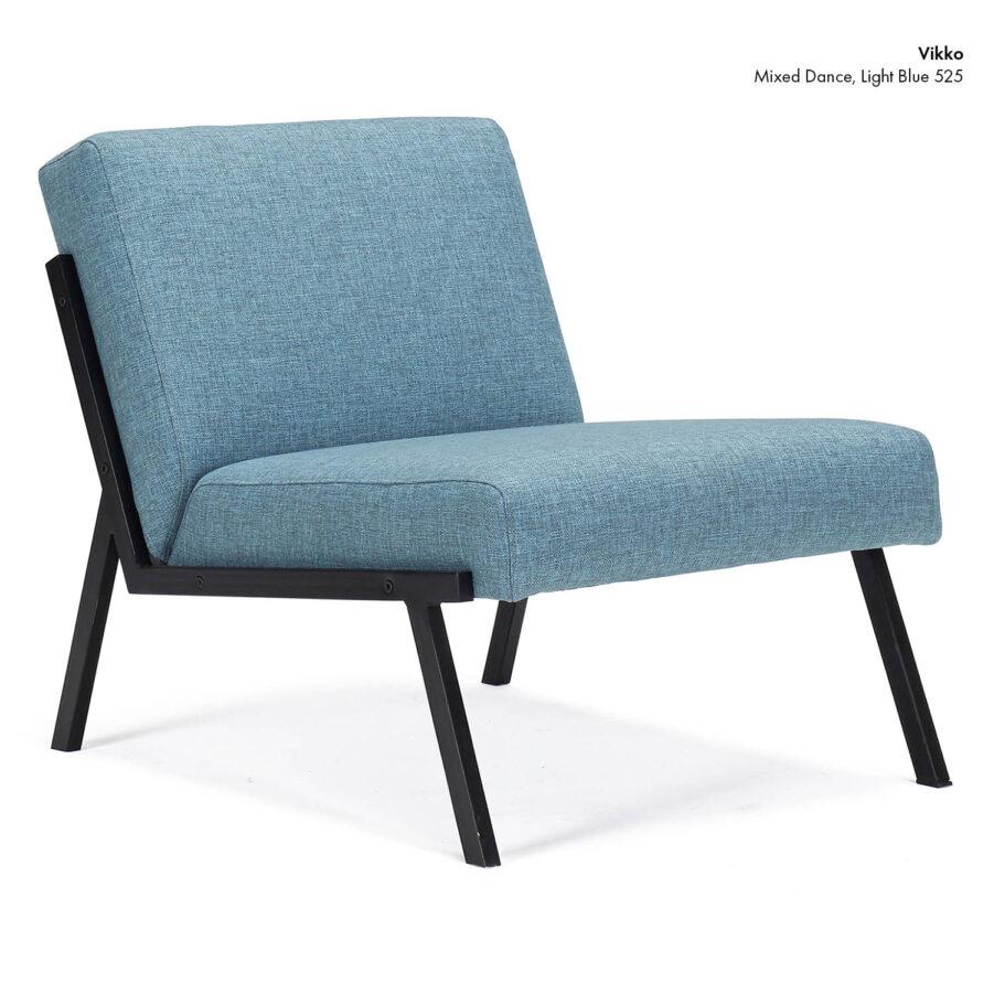 Vikko stol i färgen Mixed Dance Light Blue.