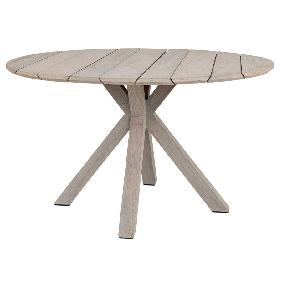 Artwood Macan matbord instant grey teak Ø130 cm