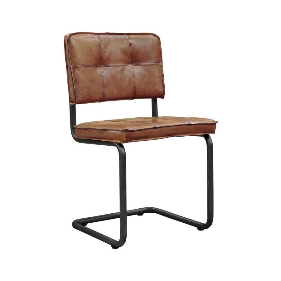 Artwood Carlos matstol buffalo leather light brown