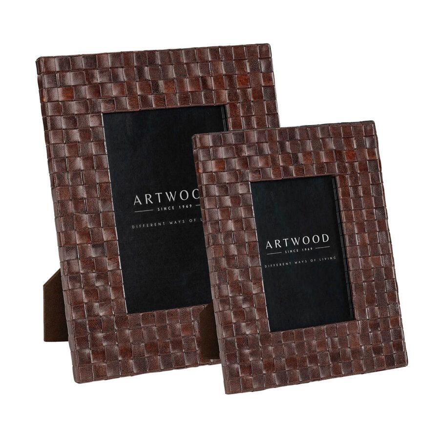 Artwood Fuego fotoram brown leather 2-set
