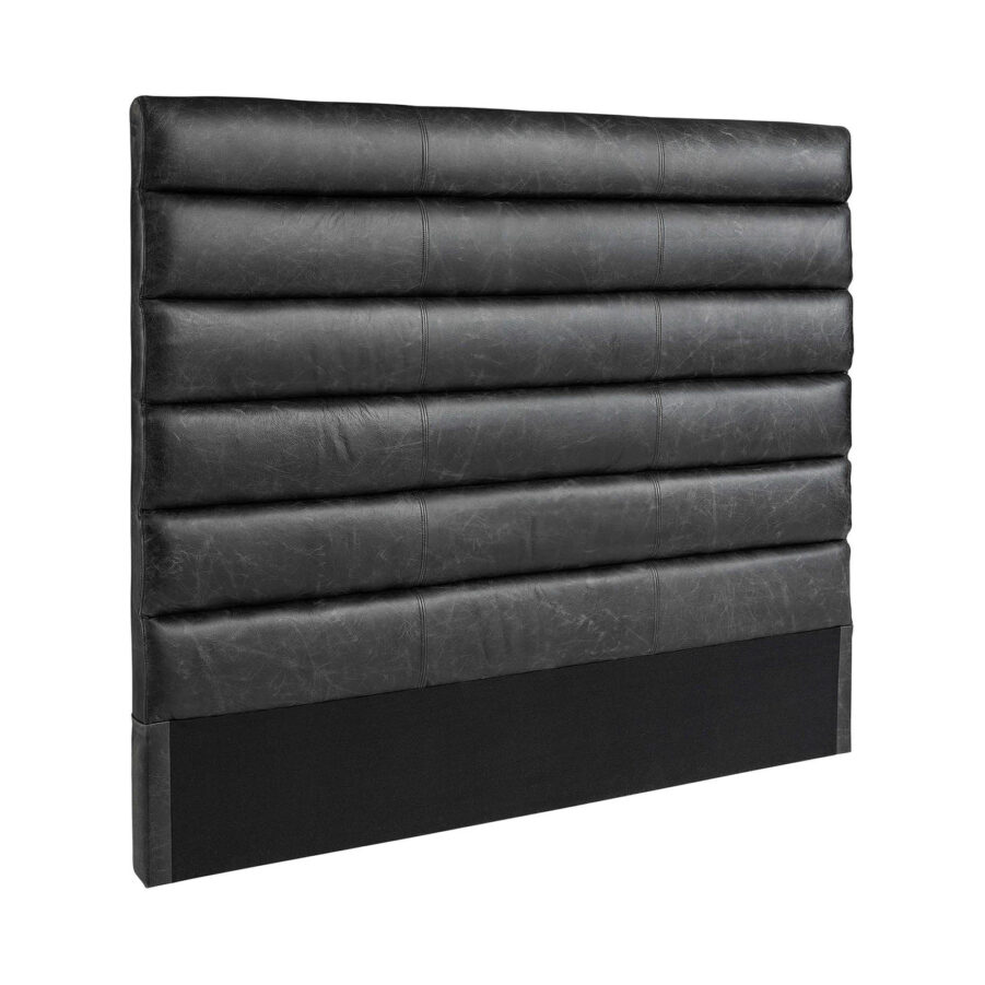 Artwood Lisbon sänggavel black leather