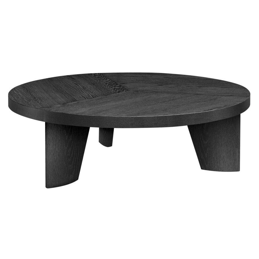 Artwood Caden soffbord ø130 cm svart