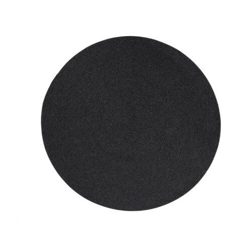 Cane-Line Circel utomhusmatta Ø140 cm mörkgrå